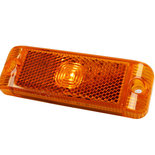 LED Zijmarkeringslamp Oranje 12/24V