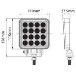 LED R23 Werklamp IP66 / 500 Lumen / 16 Watt / 10-30V