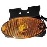 LED Zijmarkeringslamp - met beugel (Oranje/Rood/Wit) 12/24V