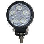 LED Mini Werklamp Rond / 7.5 Watt / 950 Lumen / 12-28V