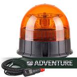 LED zwaailamp Compact  Magneet bevestiging incl. krulsnoer en stekker 12/24V | Reg 65