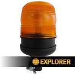 LED Zwaailamp flexibele DIN-montage 12/24V | Reg 65