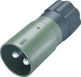NATO stekker / VG96917 / 2-polig / 35 mm2 / metaal