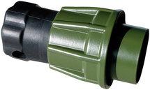 NATO stekker / VG96917 / 2-polig / 35 mm2 / metaal / schroefring