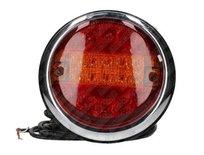 Led Achterlamp plat 12/24V