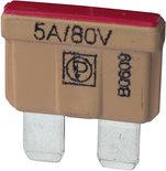 80V BLADE FUSE 5A. (10)