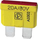 80V BLADE FUSE 20A. (10)