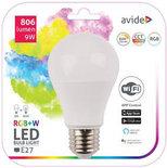 Avide Smart LED Globe E27 9W RGB+W WIFI APP Control