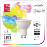 Avide Smart LED GU10 5.5W RGB+W WIFI APP Control