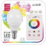 Avide Smart LED Mini Globe E14 5.5W RGB+W WIFI APP Control