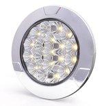 LED interieurlamp  Specificaties:  12/24V ECE-gekeurd 19 LEDS IP66/68 329 Lm 40cm kabel  Afmeting: