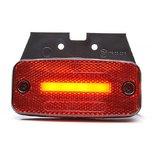 LED markeerlamp NEON + steun  Specificaties:  12/24V E-gekeurd IP66/68  Functies:  Achterlicht Reflector