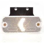LED Markeerlicht + steun  Specificaties:  12/24V E-gekeurd IP66/68 24cm kabel  Functies:  Reflectoren