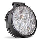LED werklamp  Specificaties:  10/30V 9x3W LEDs 6000K IP67 PMMA lens (Flood 60°