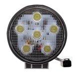 LED werklamp (1170 Lm)  Specificaties:  10/30V 1170 Lumen 6x3W LEDs 6000K IP67 PMMA lens (