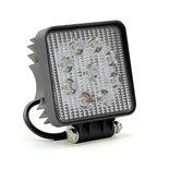 LED werklamp (1755 Lm)  Specificaties:  10/30V 1755 Lumen 9x3W LEDs 6000K IP67 Aluminium behuizing Zuinig in energiever