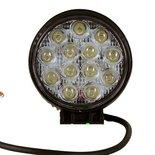 LED werklamp (2535 Lm)  Specificaties:  10/30V 2535 Lumen 13x3W LEDs 6000K IP67 Aluminium behuizing Zuinig in energieve