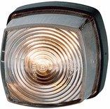 Positielicht 12V of 24V, zwarte grondplaat, C5W gloeilamp