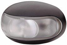 Positielicht 10V-33V LED, kabel 50cm, zwart kunststof lamphuis