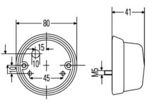 Positielicht 12V, C5W gloeilamp