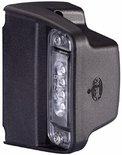 Kentekenlamp 12/24V, voor opbouw links en rechts van de kentekenplaat 520 x 120mm (1 lamp)