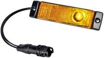 Zijmarkeringslamp LED 24V EasyConn kabel 0,3m