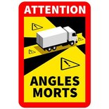 STICKER ANGLES MORTS TRUCK