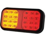 LED Achterlicht  |  Achterlicht / Remlicht / Knipperlicht  12/24V