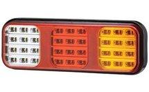 LED Achterlicht  |  Achterlicht / Remlicht / Knipperlicht / Achteruitrijlicht  12/24V