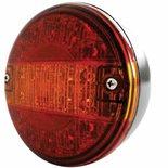 LED Achterlicht Multifunctioneel (Hamburgerlamp) 10/30V  Zonder kabel