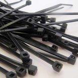 Kabelbinders | Zwart| Pak a 100 stuks / diverse maten