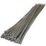 Kabelbinders | Zilver| Pak a 100 stuks / diverse maten