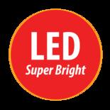 LED Zwaailamp 3-Bouts montage 12-24V  Reg 10