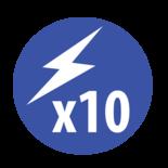 Led Mini Flitsbalk Magneet bevestiging 12/24V| Reg 10