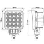 LED Werklamp 48 Watt / 3200 Lumen / 12-28V