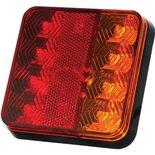 LED Compact Achterlicht | Remlicht/Achterlicht/Knipperlicht  12V