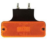 Led Zijmarkeringslamp Oranje met bevestigingssteun 10/30V