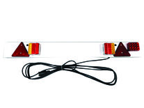LED Lichtbalk met mistlamp / 1500 mm / 12 meter kabel / 12V