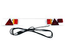 LED Lichtbalk met mistlamp / 1200 mm / 12 meter kabel / 12V