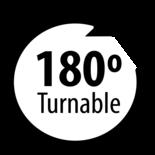 LED Interieurverlichting Draaibaar/ met schakelaar / 600 Lumen / 327 mm / 12-28V