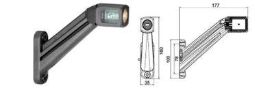 Pendellamp LED Links (HELLA)